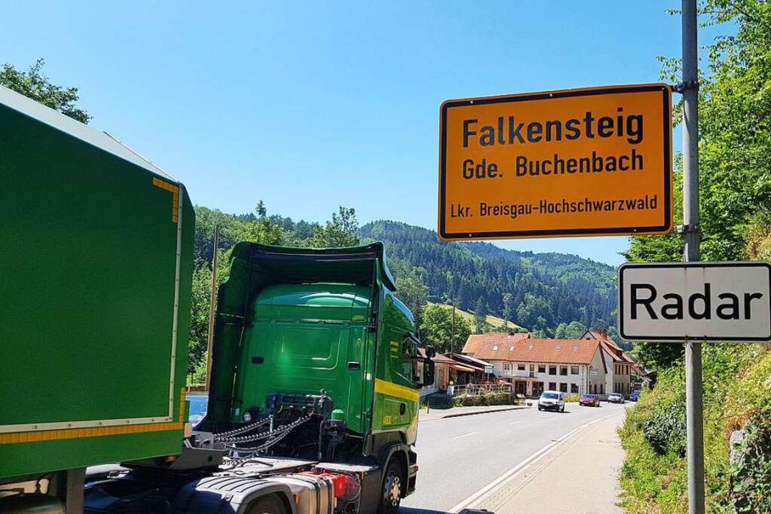 Die  angeregte Verkehrswende soll dem ...au in Falkensteig nicht im Weg stehen.  | Foto: Sebastian Wolfrum