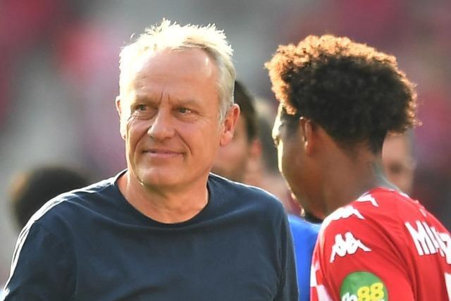 Streich überrascht nach dem 0:0 in Mainz mit einer Entschuldigung