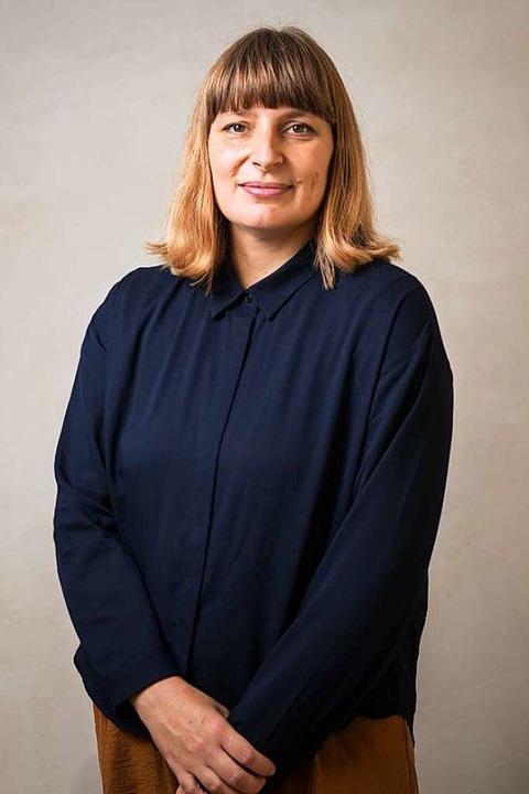 Sarah Becker, Architektin und Austellu...h durch das zusätzliche Geld sicherer.    Foto: Stefanie Loos