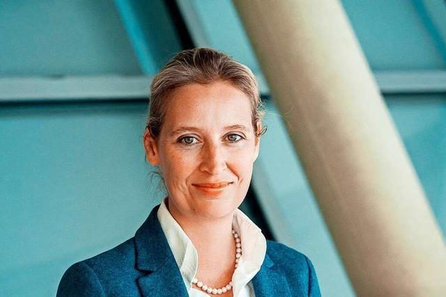 Ermittlungen gegen Alice Weidel in Parteispenden-Affäre eingestellt