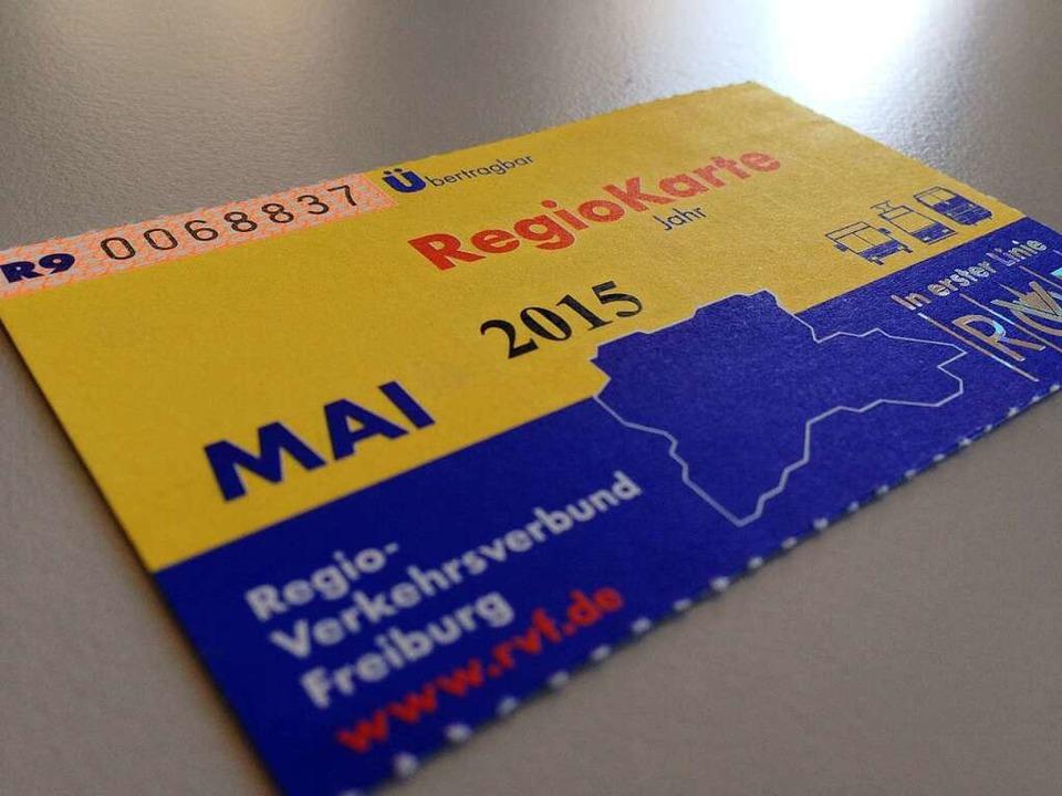 Mit einer gefälschten Monatskarte woll...ngen nach Freiburg fahren. Symbolfoto.  | Foto: Carolin Buchheim