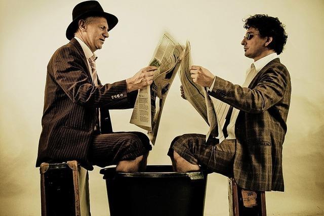Das Huub Dutch Duo spielt in der Kumedi