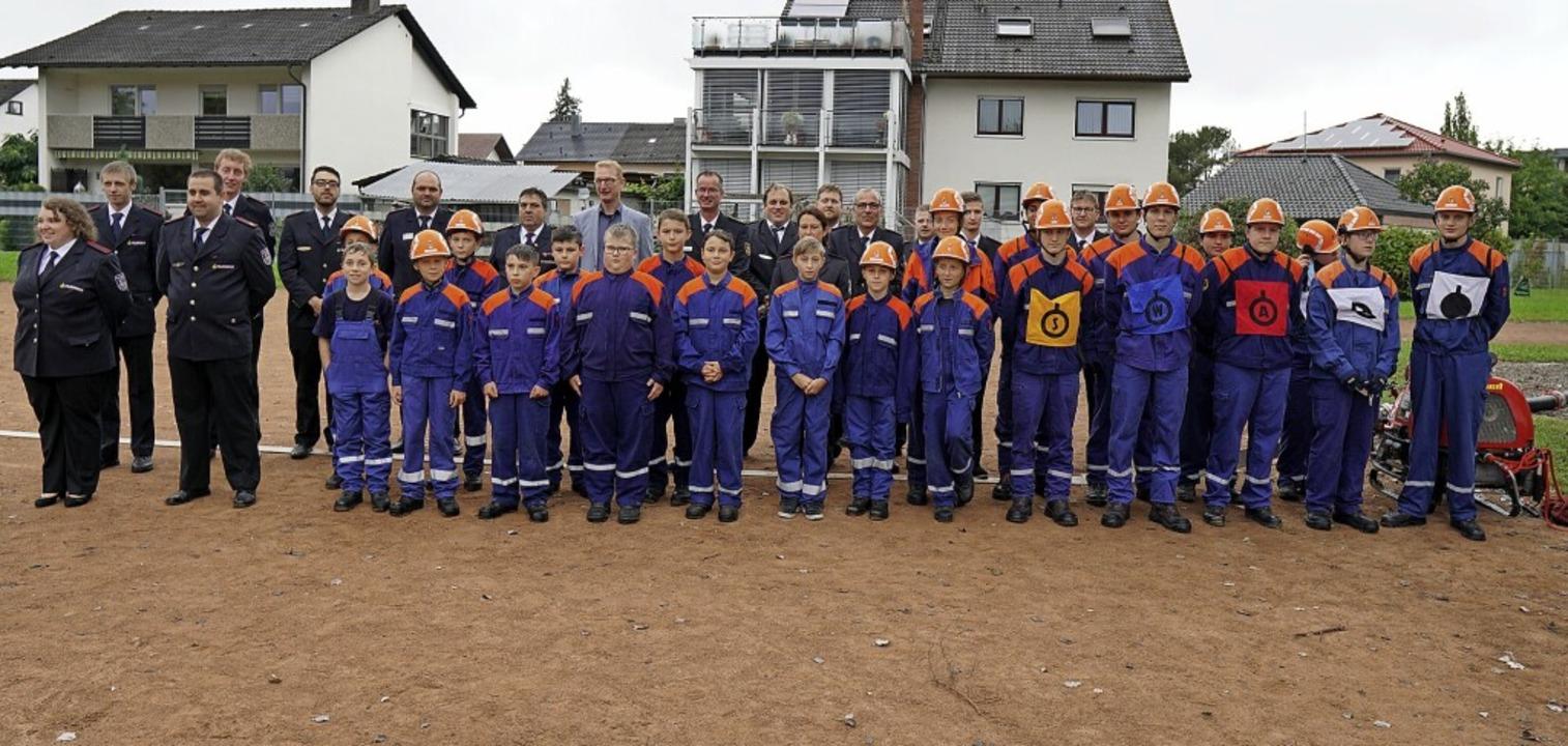 Seit 40 Jahren sichert die Jugendfeuer... der aktiven Kameraden in Herbolzheim.    Foto: Jürgen Schweizer