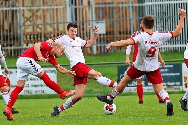 Große Ernüchterung beim SC Kappel nach der 1:2-Niederlage gegen Ettenheim