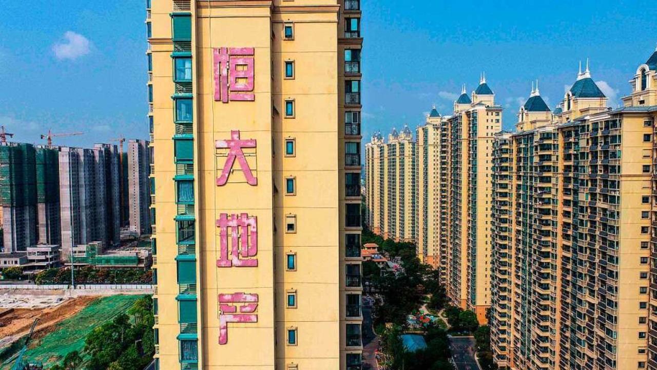Evergrande betreibt 1300 Immobilienprojekte in 280 chinesischen Städten.  | Foto: STR (AFP)