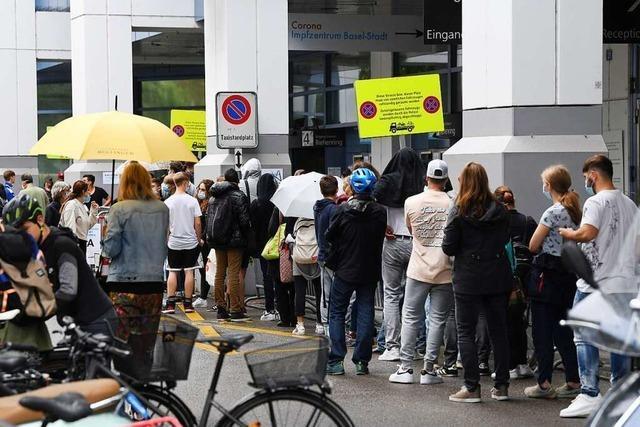 Führt die Ausweitung der 3G-Regel zu mehr Impfungen in Basel?