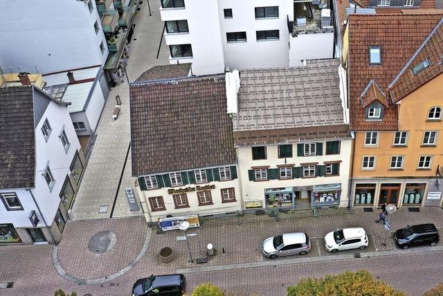 16 Jahre Leerstand: Ein Verkauf der Uehlin Häuser in Schopfheim ist in Sicht