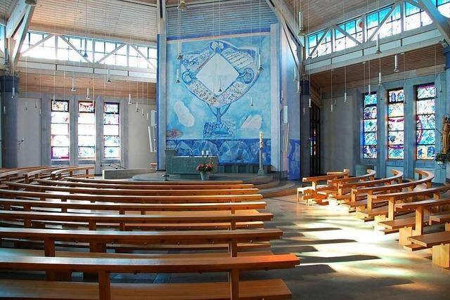 Katholische Kirche in Weil am Rhein wird umfassend saniert