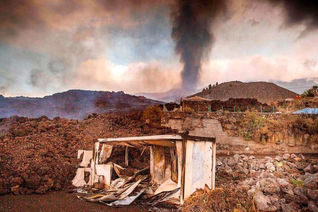 Das Feuer hat zahlreiche Häuser und andere Gebäude zerstört.  | Foto: DESIREE MARTIN (AFP)
