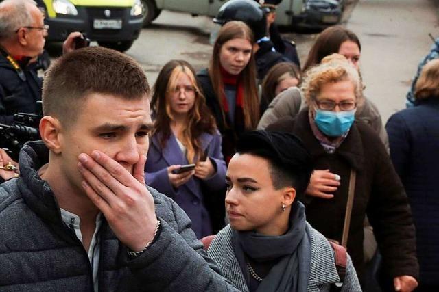 Sechs Tote nach Amoklauf an russischer Universität