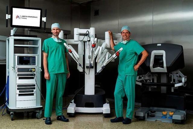 Der Da-Vinci-Operationsroboter ist da – und ein neuer Chefarzt kommt