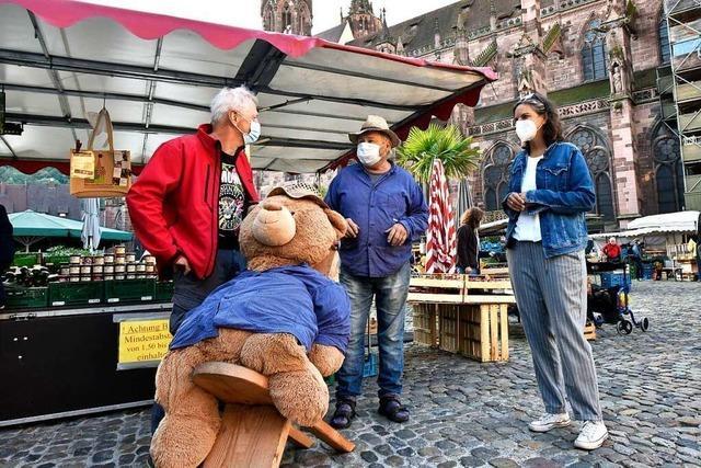 Auf dem Münstermarkt gibt es eine Frühstückstour für Einheimische