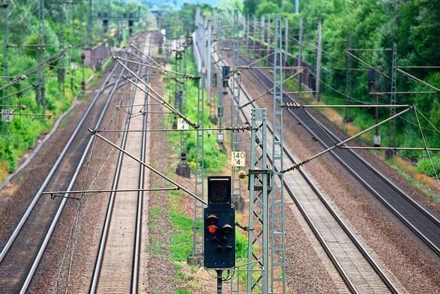 Der BI Bahntrasse in Offenburg geht die Arbeit nicht aus