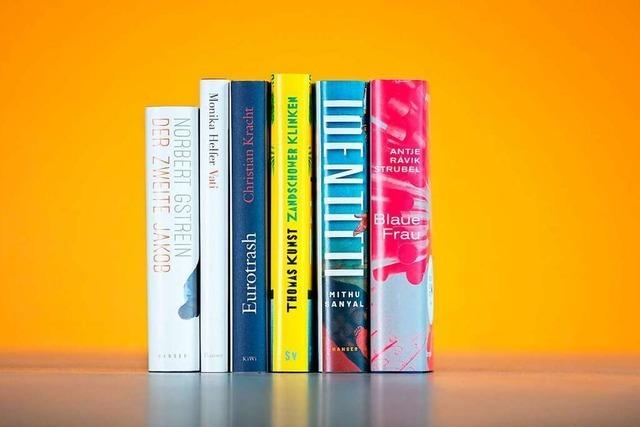 Diese sechs Titel können den Deutschen Buchpreis gewinnen