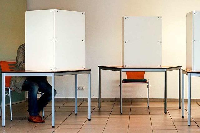 Bis zu 46 Prozent wählen im Elztal lieber zu Hause als an der Urne