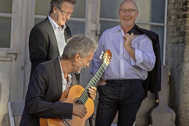 Das Gitarrentrio Cuadro Sur spielt Konzerte in Altenheim und Freiburg
