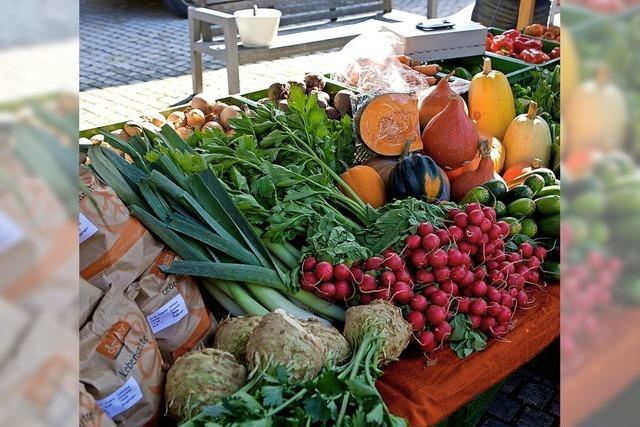 Eigenes beim Herbstmarkt