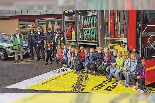 Sicherheitstag im Kappeler Kindergarten