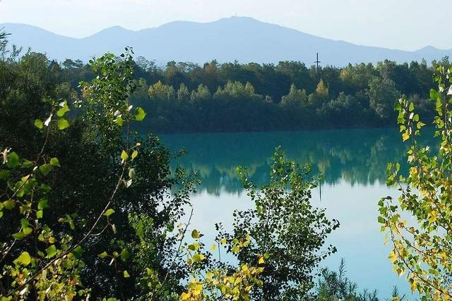 Behörden prüfen, ob Grißheimer See Teil des Rückhaltenetzes bei Hochwasser werden kann