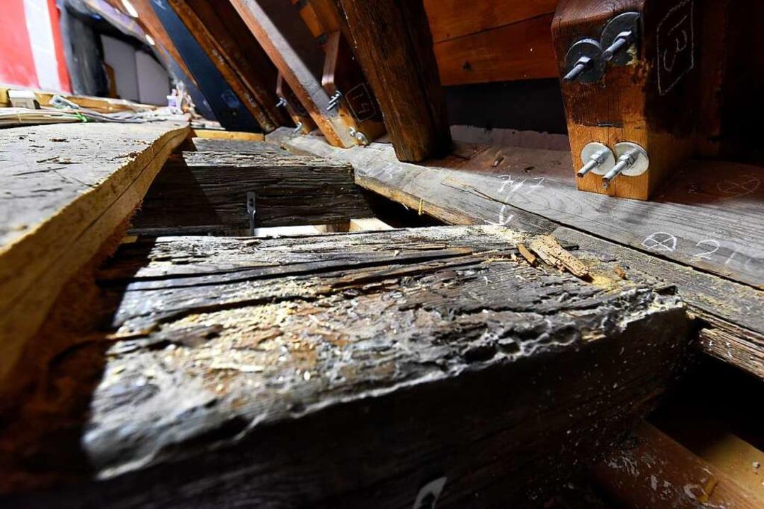 Beim Augustinermuseum hat man es mit sehr alten Bauteilen zu tun.  | Foto: Thomas Kunz