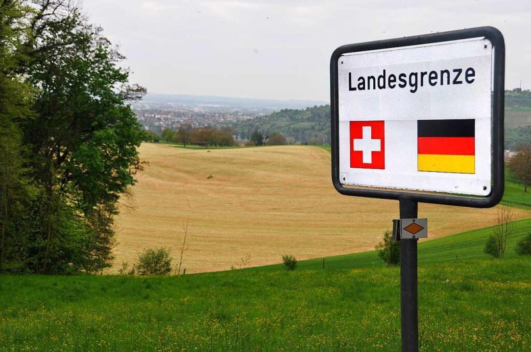Die Einreise in die Schweiz wurde ersc... für Menschen aus den Nachbarregionen.    Foto: Daniel Gramespacher