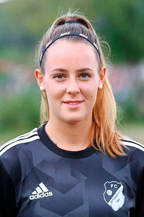 Jana Grauer spielt seit 2015 für den FC Wittlingen in der Verbandsliga.  | Foto: Marcus Reichenbach