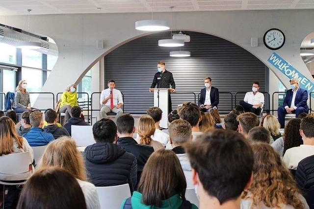 Die Linke liegt bei Schülerinnen und Schülern des Lahrer Scheffel-Gymnasiums vorn
