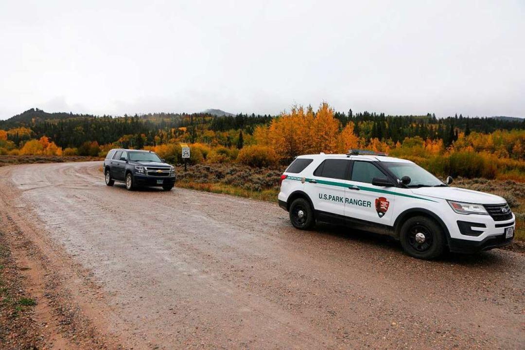 Im Bridger-Teton National Forest, östl...e die Leiche der 22-Jährigen gefunden.    Foto: Amber Baesler (dpa)