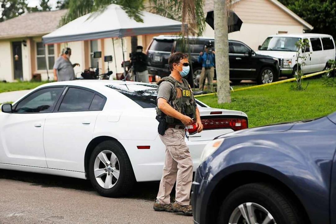 In Florida durchsuchen Ermittler derwe...ch dem weiter fieberhaft gesucht wird.    Foto: Octavio Jones (AFP)