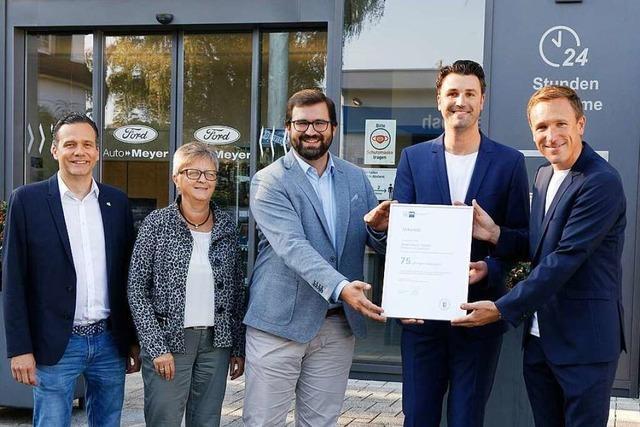 Neubau soll Autohaus Meyer den Weg in die Zukunft sichern