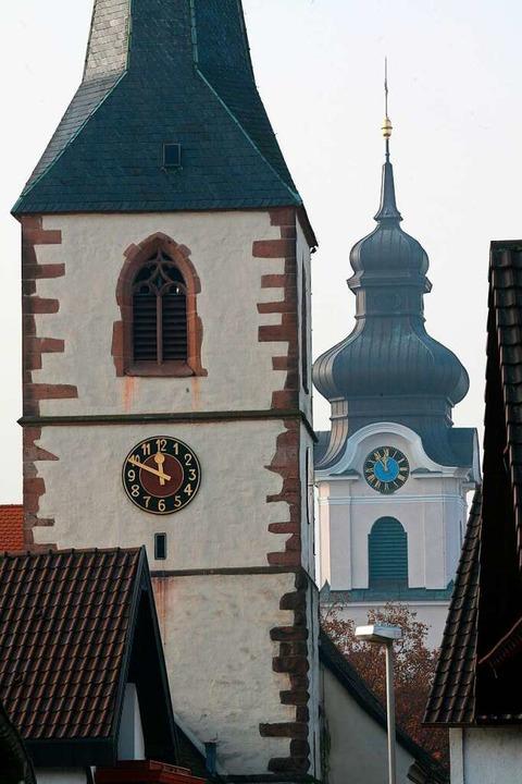 Auf diesem Foto von vor zehn Jahren is...ischen Glockenstuhl leicht voraus ist.    Foto: Bastian Henning
