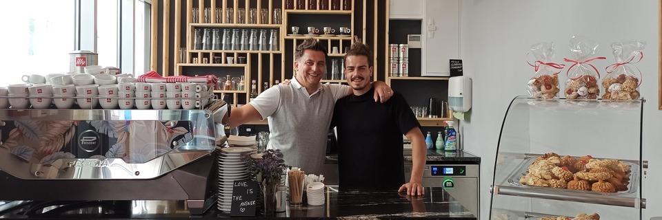 In der Espressobar