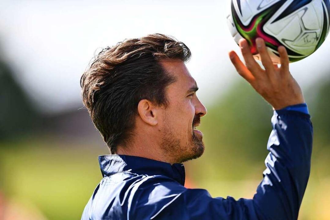 Thomas Stamm ist seit Saisonbeginn für...te Mannschaft des Sportclubs zuständig    Foto: Achim Keller