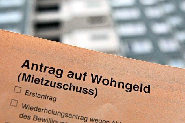Wer Wohngeld will, muss in Freiburg warten