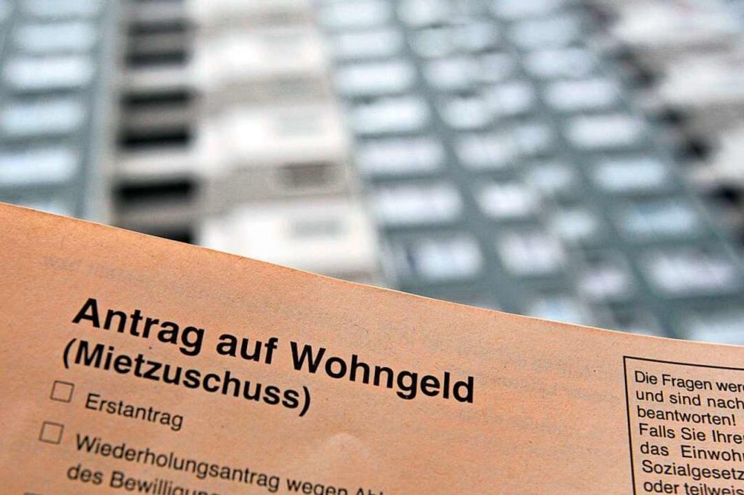 Die Auszahlung des Wohngelds verläuft in Freiburg derzeit schleppend.  | Foto: Bodo Marks