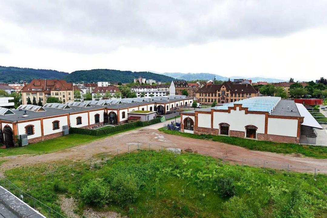 Wenig ist geblieben von den alten Gebäuden und Gleisen.  | Foto: Thomas Kunz