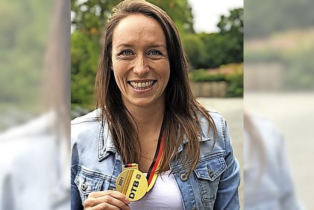Sabine Storz beste deutsche Mehrkämpferin