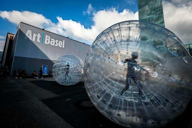 Die Art Basel ist nach pandemiebedingter Abstinenz wieder zurück