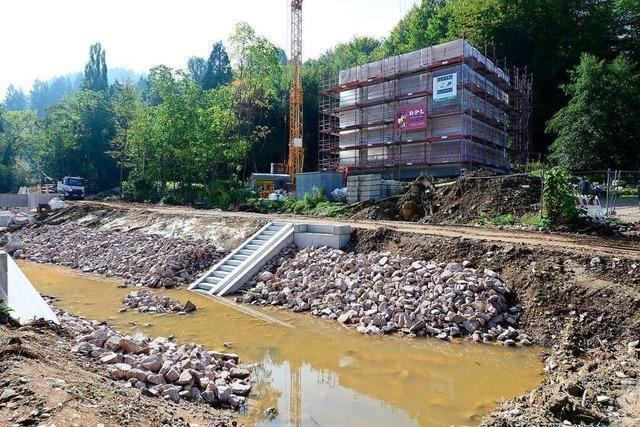 Richtfest für das neue Freiburger Forstamt