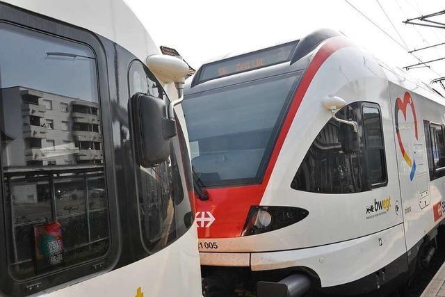 Züge der S6 im Wiesental sind manchmal nur halb so lang, wie sie sein sollten