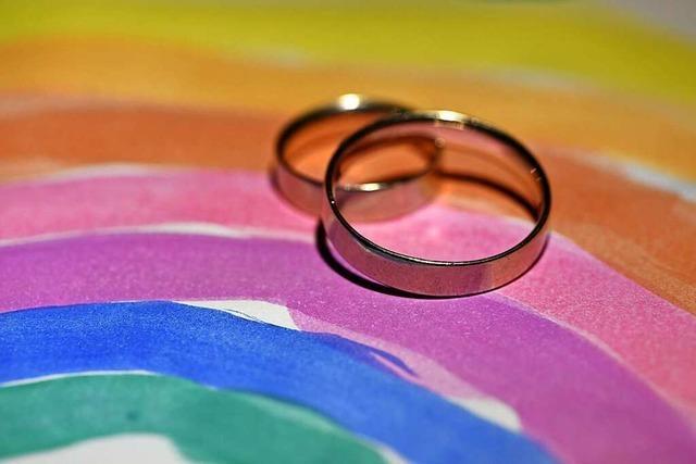 Die Schweiz stimmt am Sonntag über die Ehe für alle ab