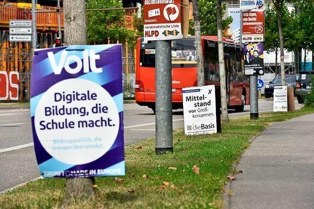 Diese Kleinparteien treten im Wahlkreis Lörrach-Müllheim mit Direktkandidaten an