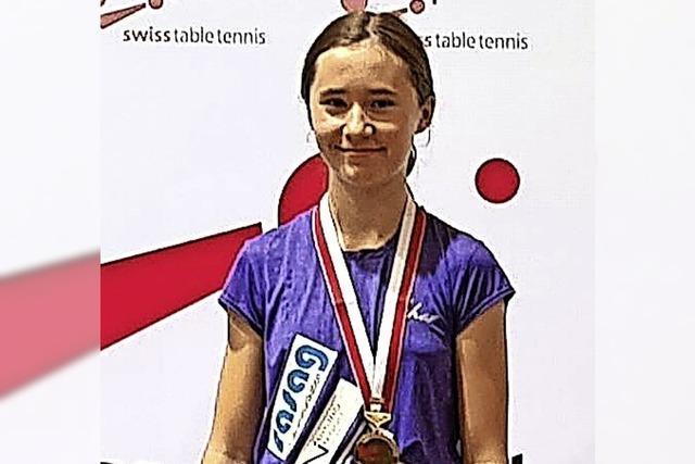 Tischtennis-Ass holt Medaillen
