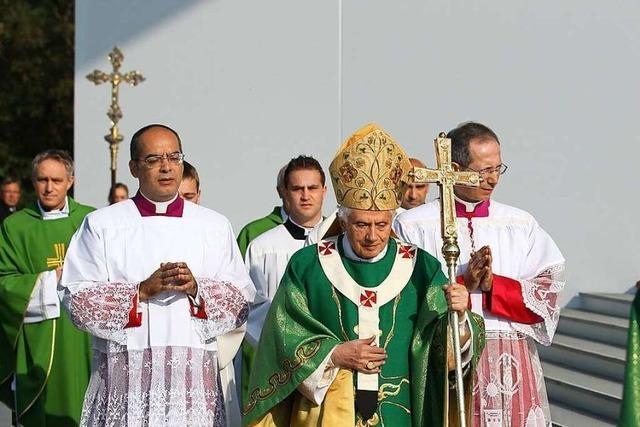 Vor zehn Jahren besuchte Papst Benedikt XVI. Freiburg