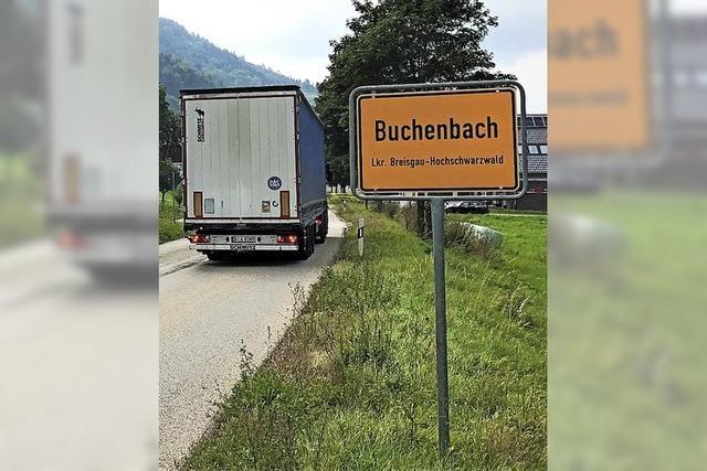 Künftig mit Tempo 30 durch Buchenbach