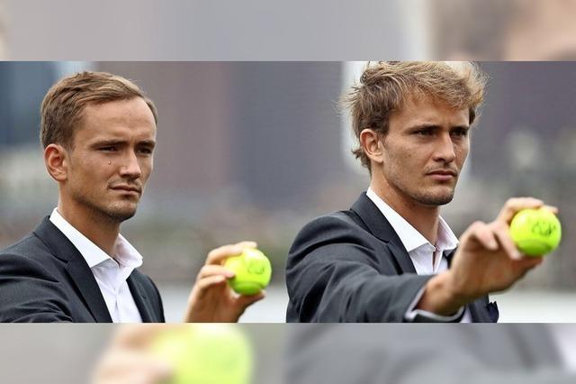 Tennis-Show ohne die großen Drei