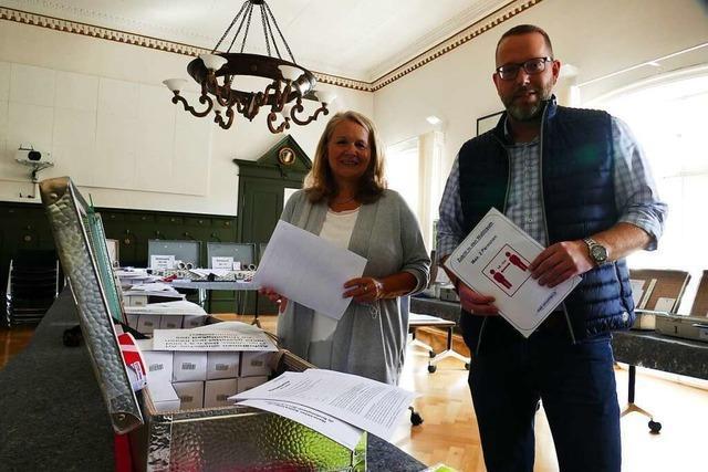 Schopfheim steuert bei der Briefwahl auf einen Rekord zu