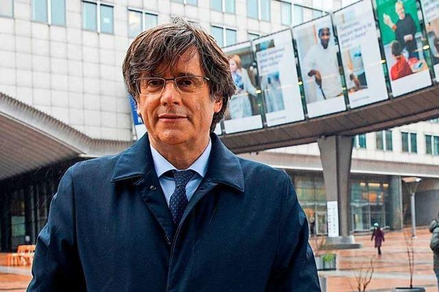 Kataloniens Ex-Regierungschef Puigdemont in Italien verhaftet