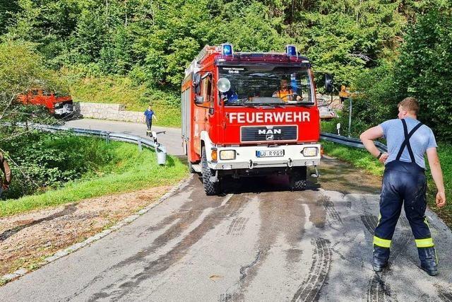 Wie gut ist die Feuerwehr im Kleinen Wiesental ausgerüstet?