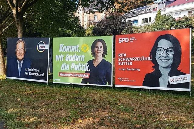 Der Wahlkreis Waldshut ist ein Flächenriese